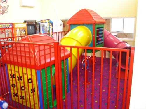 Children's play area at Argosy Motor Inn