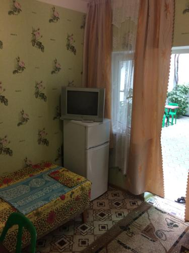 Кровать или кровати в номере Tatyana