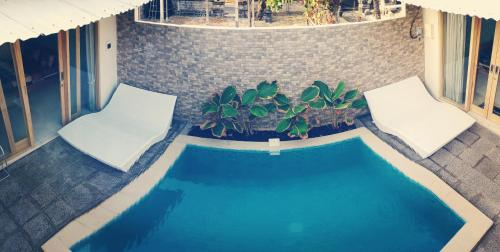 Der Swimmingpool an oder in der Nähe von Dragonfly