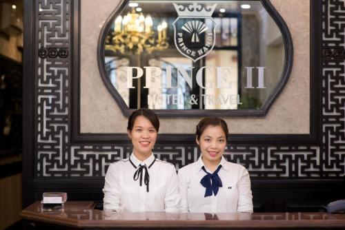 Staff members at Prince II Hotel