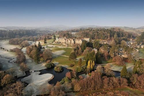 A bird's-eye view of Bovey Castle