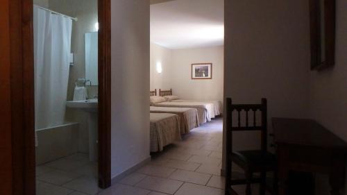 Cama o camas de una habitación en Xalet Besolí