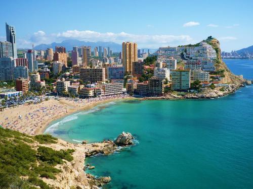 A bird's-eye view of Dream Away Alicante
