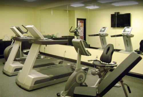 The fitness center and/or fitness facilities at Euro-Suites Hotel