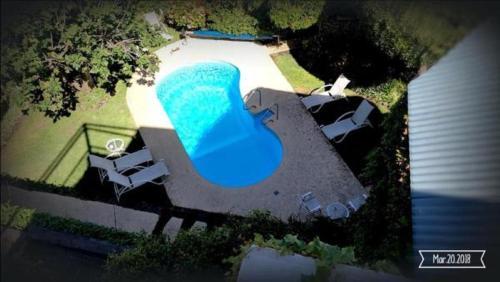 Vista de la piscina de Posada del Angel o alrededores