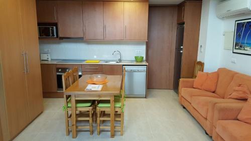 Una cocina o zona de cocina en Enginyapartaments