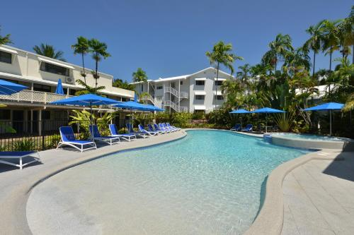 The swimming pool at or near Seascape Holidays at Beachfront Terraces