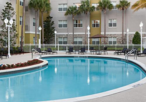 The swimming pool at or near Residence Inn by Marriott Fort Lauderdale Airport & Cruise Port