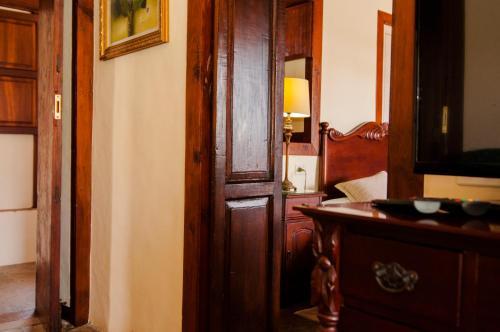A bathroom at Finca Arminda