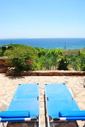 A view of the pool at Maria Rooms or nearby