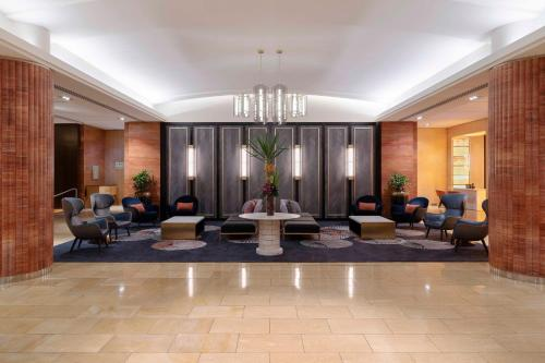 The lobby or reception area at Amora Hotel Jamison Sydney