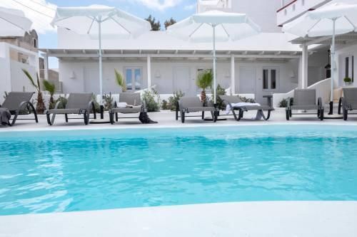 The swimming pool at or near Ambience Suites