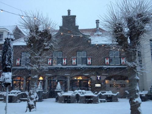 Hotel Arcen during the winter