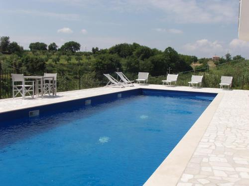 The swimming pool at or near Residence Candeloro
