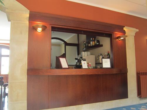 El vestíbulo o zona de recepción de Hotel Finca La Mansión