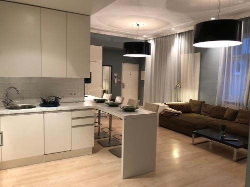 A kitchen or kitchenette at SARGE aparment