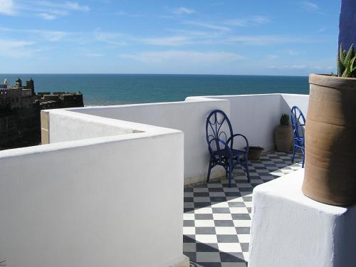 Общий вид на море или вид на море из отеля типа «постель и завтрак»