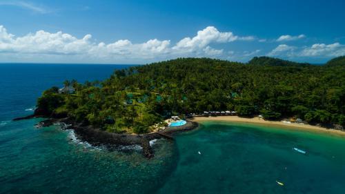 A bird's-eye view of Club Santana Beach & Resort