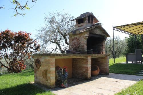 Attrezzature per barbecue disponibili per gli ospiti della villa