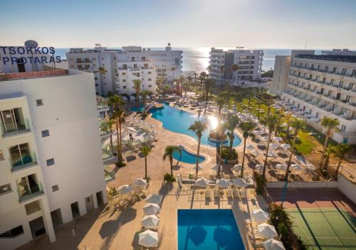 A view of the pool at Tsokkos Protaras Beach Hotel or nearby