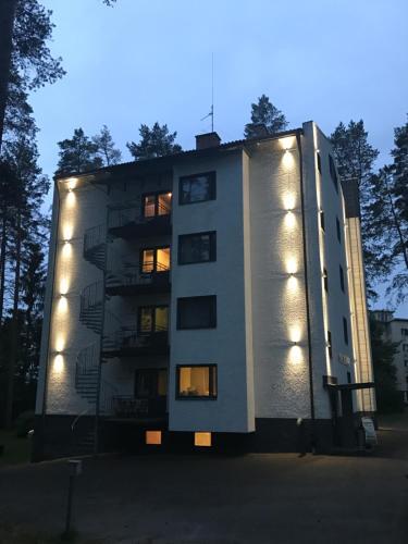 Rakennus, jossa hotelli sijaitsee