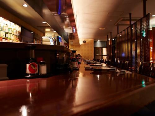 The lobby or reception area at Hotel New Otani Takaoka