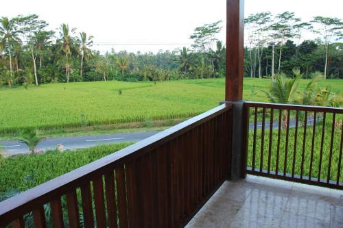 A balcony or terrace at Villa Kemuning