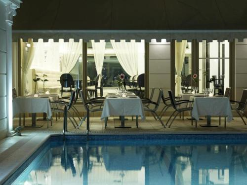 The swimming pool at or near Menelaion Hotel