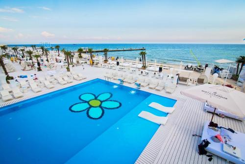 A view of the pool at Arcadia Palace or nearby
