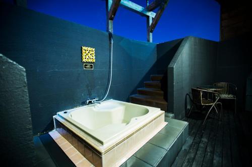 A bathroom at Hotel Balian Resort Tomei Kawasaki I.C.