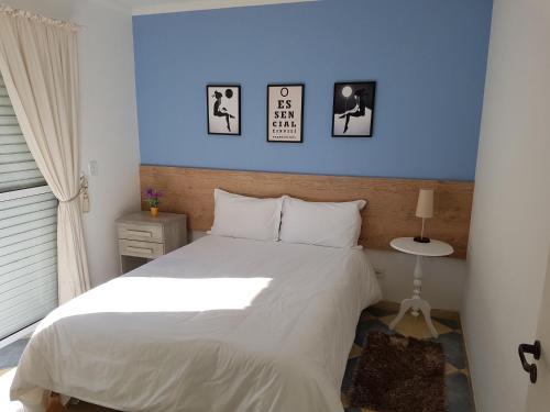 Cama ou camas em um quarto em Condomínio Vila Everest