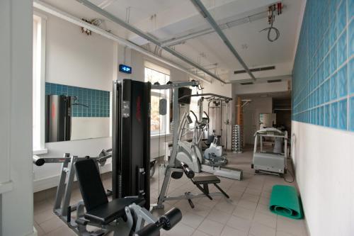 Het fitnesscentrum en/of fitnessfaciliteiten van Hotel Orion