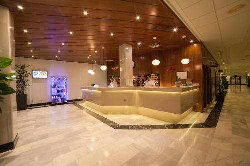 The lobby or reception area at Valentin Son Bou
