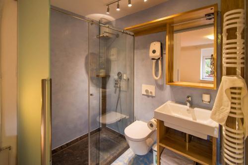 Kúpeľňa v ubytovaní Apartments Mrakič