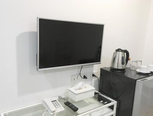 A television and/or entertainment centre at A-Port