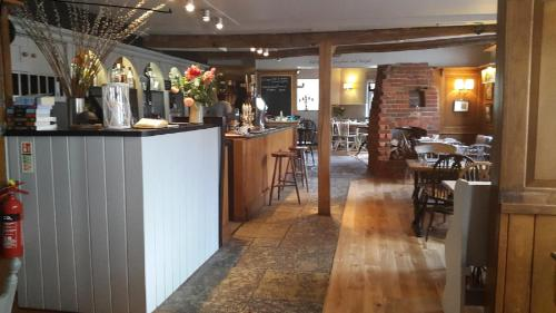 A restaurant or other place to eat at The Fleur de Lys Inn - previously Inn at Cranborne