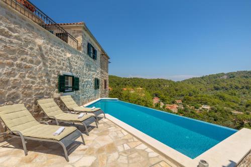 The swimming pool at or close to Villa Klacina
