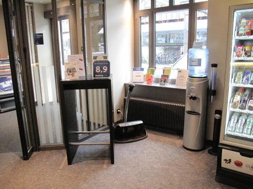 The lobby or reception area at Hotel Wartmann am Bahnhof