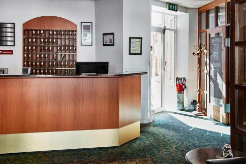 The lobby or reception area at Milling Hotel Ansgar