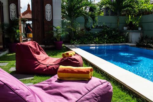 The swimming pool at or near Villa Rangga Bodhi