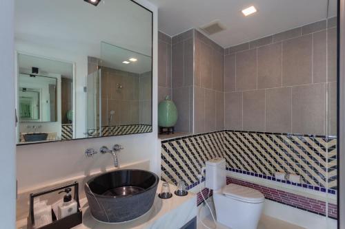 Ein Badezimmer in der Unterkunft Oriental Heritage Residence