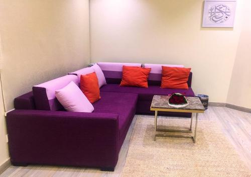Uma área de estar em Green Pearl Resort