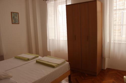 Кровать или кровати в номере Dudić apartmani