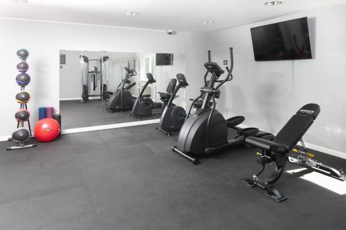 The fitness center and/or fitness facilities at Red Lion Inn & Suites at Olympic National Park