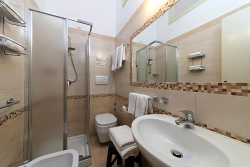 A bathroom at Hotel Casa Di Meglio