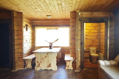 Ванная комната в База Отдыха Алтан