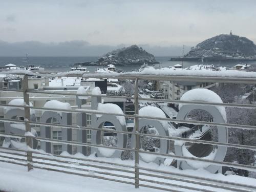 Sercotel Codina during the winter