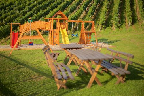 Children's play area at Tourist farm Lovrec