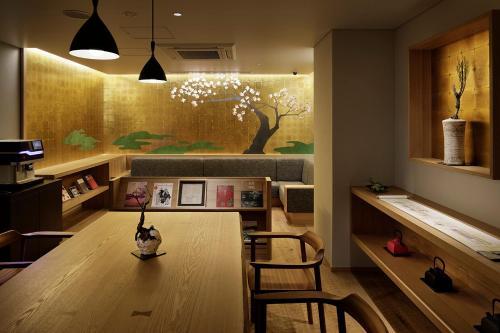 京都河原町三條瑞索酒店餐廳或用餐的地方