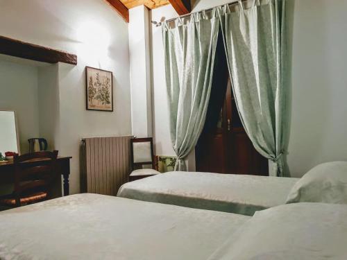 Letto o letti in una camera di Ai Fuin